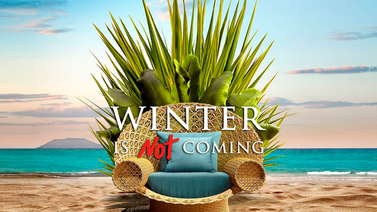 Winter is not coming en Canarias Hote Turismo